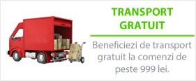 Transport gratuit la comenzi de peste 200 lei