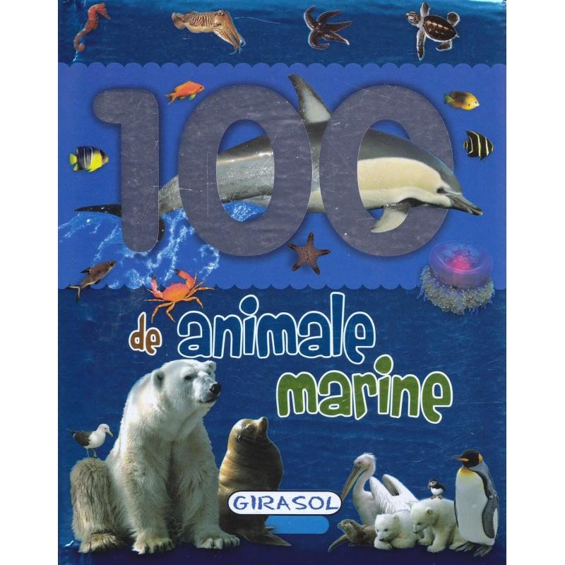 Carte 100 animale marine Girasol, 26 pagini, 12 luni+ 2021 shopu.ro