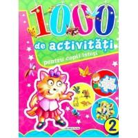 Carte 1000 de activitati pentru copii isteti 2, editura Girasol