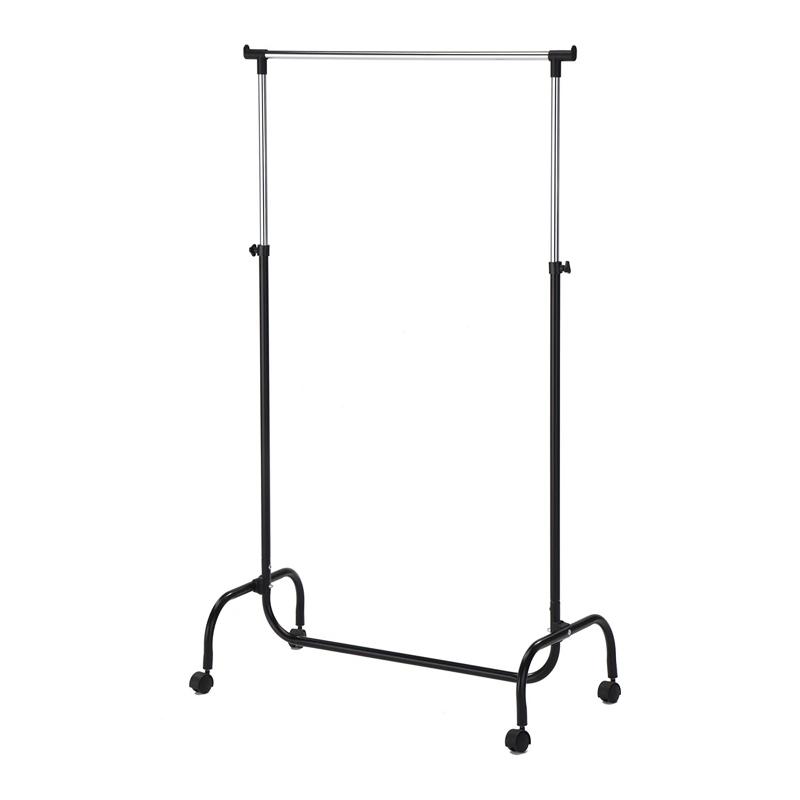 Stand metalic pentru umerase, 99-170 x 83 cm, inaltime reglabila 2021 shopu.ro