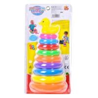 Joc piramidal, 9 inele, Multicolor