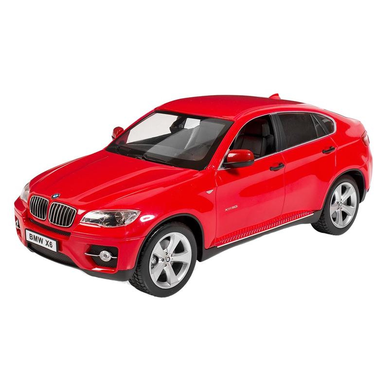 Masina cu telecomanda BMW X6, 30 x 12 cm, Rosu 2021 shopu.ro