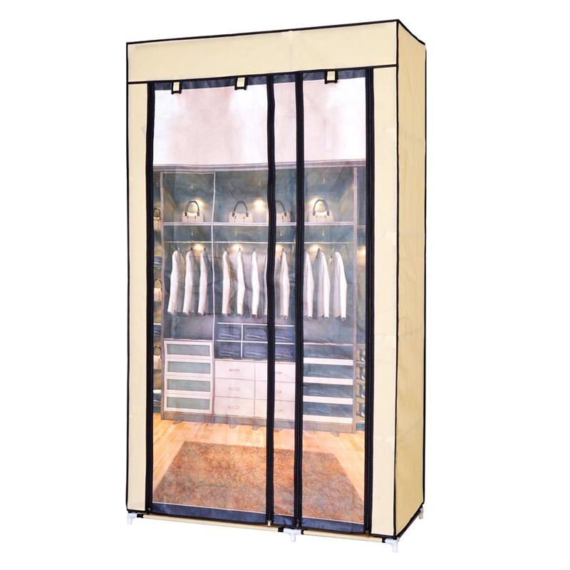 Dulap textil pentru depozitare, 100 x 46 x 174 cm shopu.ro