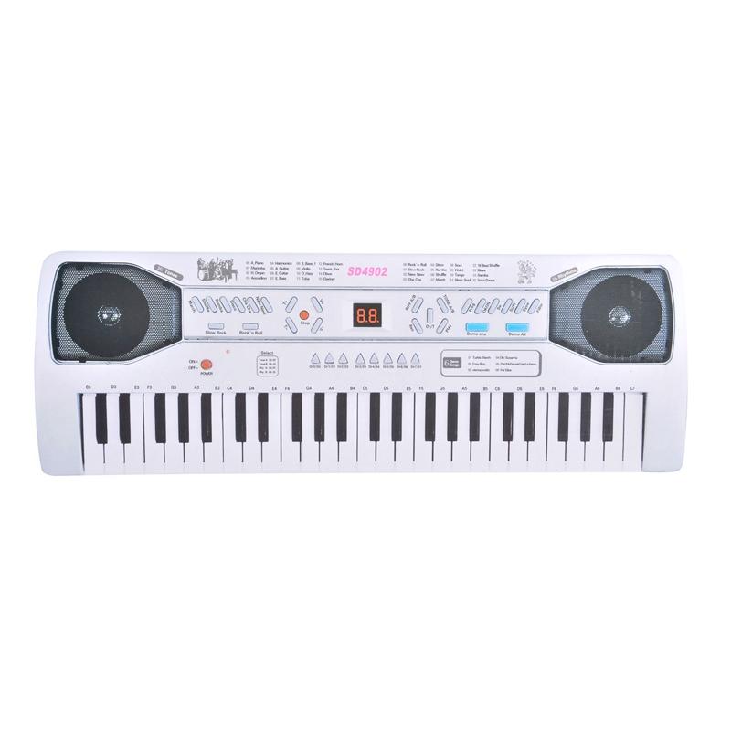 Orga electronica, 49 butoane, functie inregistrare, LCD 2021 shopu.ro