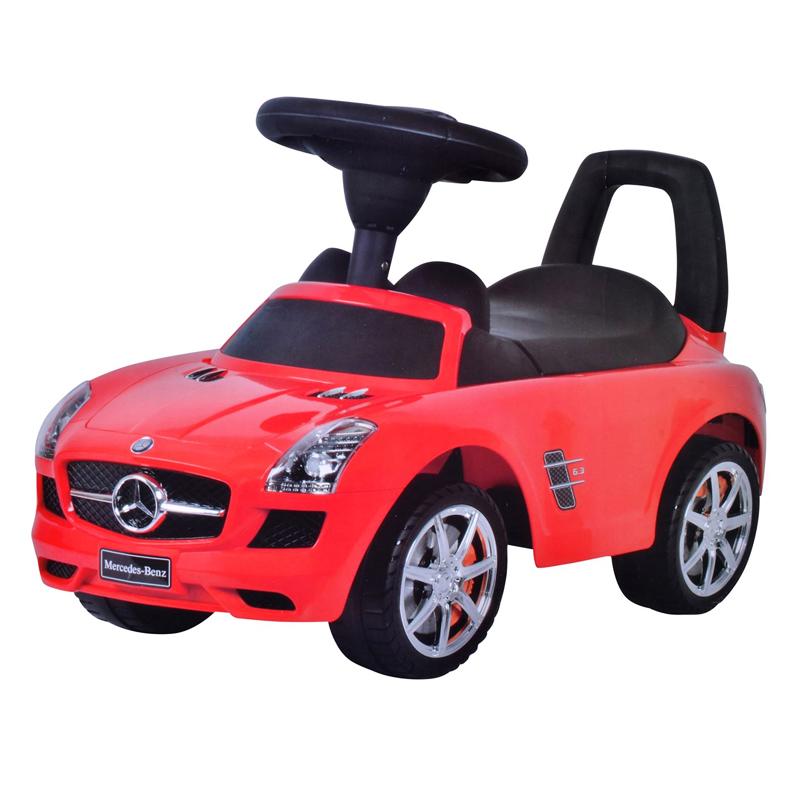 Masina pentru copii Mercedes, 2 x AA, Rosu 2021 shopu.ro