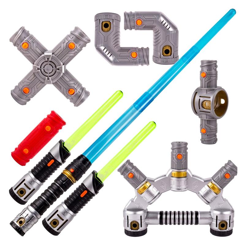 Set sabie cu lumini Lightsaber Star Wars, LED