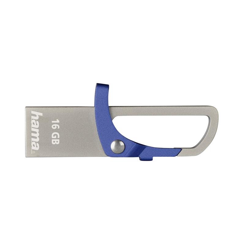 Stick Hook-Style Hama, 16 GB, USB 2.0, Albastru