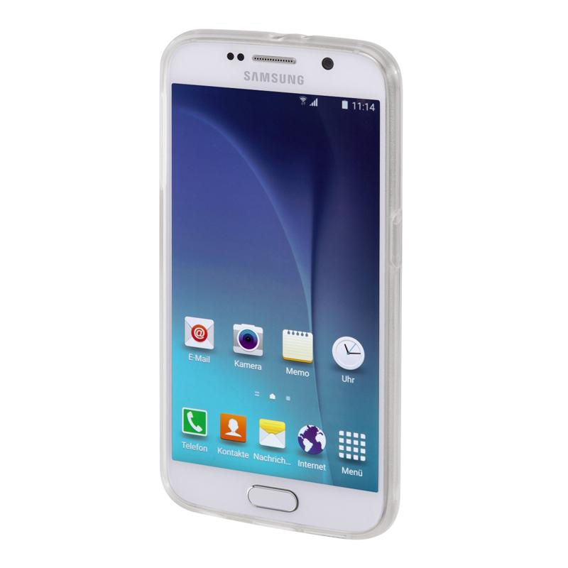 Carcasa Crystal Samsung Galaxy S6 Hama, Transparent