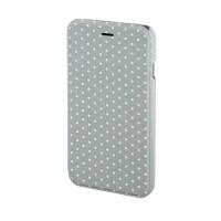 Husa Booklet Lumi Dots iPhone 6 Hama, Gri/Alb