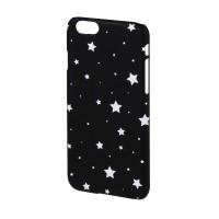 Carcasa Lumi Stars iPhone 6 Hama, Negru/Alb