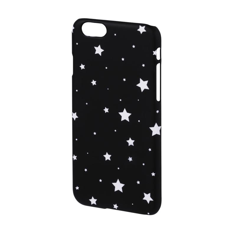 Carcasa Lumi Stars iPhone 6 Hama, Negru/Alb 2021 shopu.ro