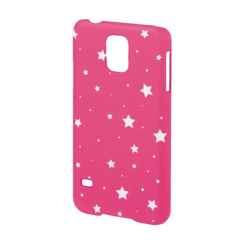 Carcasa Lumi Stars Samsung Galaxy S5 Hama, Roz/Alb