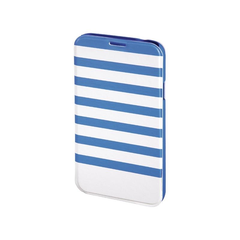 Husa Booklet Stripes Samsung Galaxy S5 Hama, Albastru/Alb 2021 shopu.ro