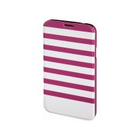 Husa Booklet Stripes Samsung Galaxy S5 Hama, Rosu/Alb
