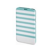 Husa Booklet Stripes Samsung Galaxy S5 Hama, Verde/Alb