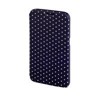 Husa Booklet Lumi Dots Samsung Galaxy S6 Hama, Negru/Alb