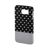 Carcasa Lovely Dots Samsung Galaxy S6 Hama, Negru/Alb