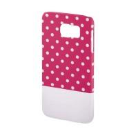 Carcasa Lovely Dots Samsung Galaxy S6 Hama, Roz/Alb
