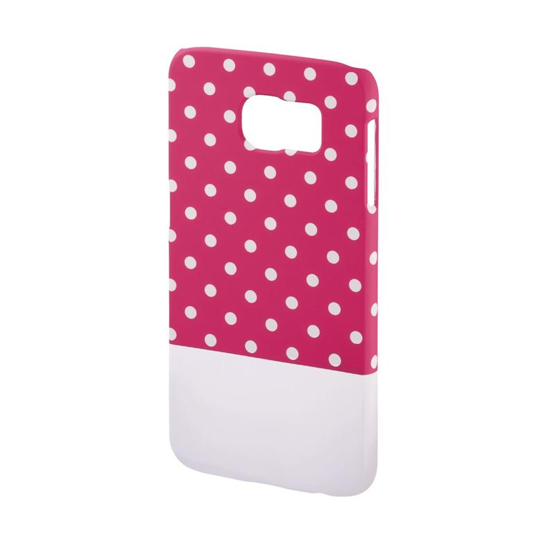 Carcasa Lovely Dots Samsung Galaxy S6 Hama, Roz/Alb 2021 shopu.ro