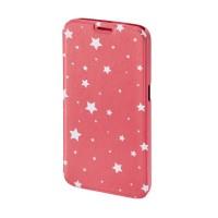 Husa Booklet Lumi Stars Samsung Galaxy S6, Roz/Alb