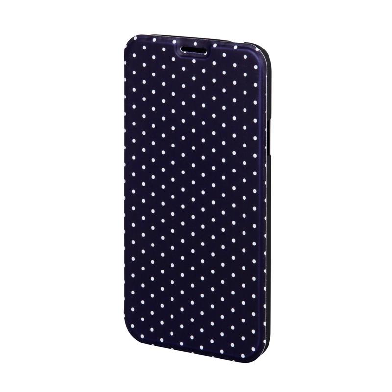 Husa Booklet Lumi Dots Samsung Galaxy S5 Hama, Negru/Alb 2021 shopu.ro