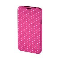 Husa Booklet Lumi Dots Samsung Galaxy S5 Hama, Roz/Alb
