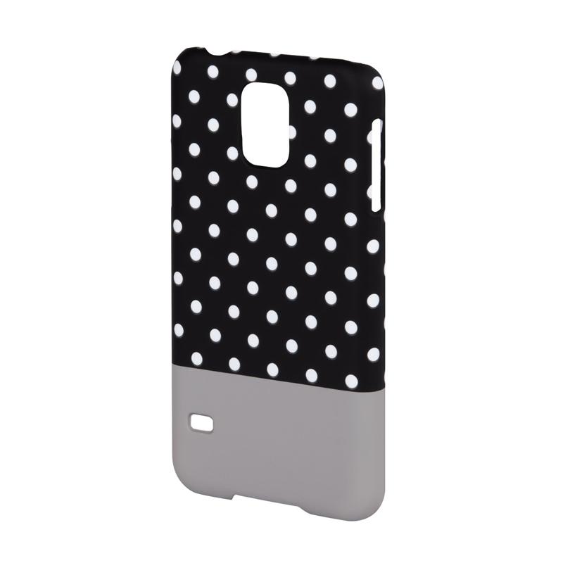Carcasa Lovely Dots Samsung Galaxy S5 Hama, Negru/Alb 2021 shopu.ro