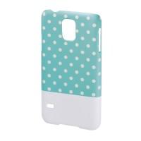Carcasa Lovely Dots Samsung Galaxy S5 Hama, Verde/Alb