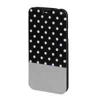 Husa Booklet Lovely Dots Samsung Galaxy S5 Hama, Negru/Alb
