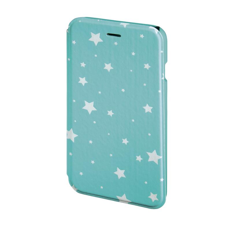 Husa Booklet Lumi Stars iPhone 6 Hama, Verde/Alb