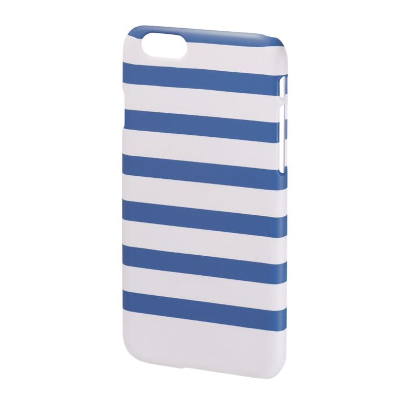 Carcasa Stripes iPhone 6 Hama, Albastru/Alb 2021 shopu.ro