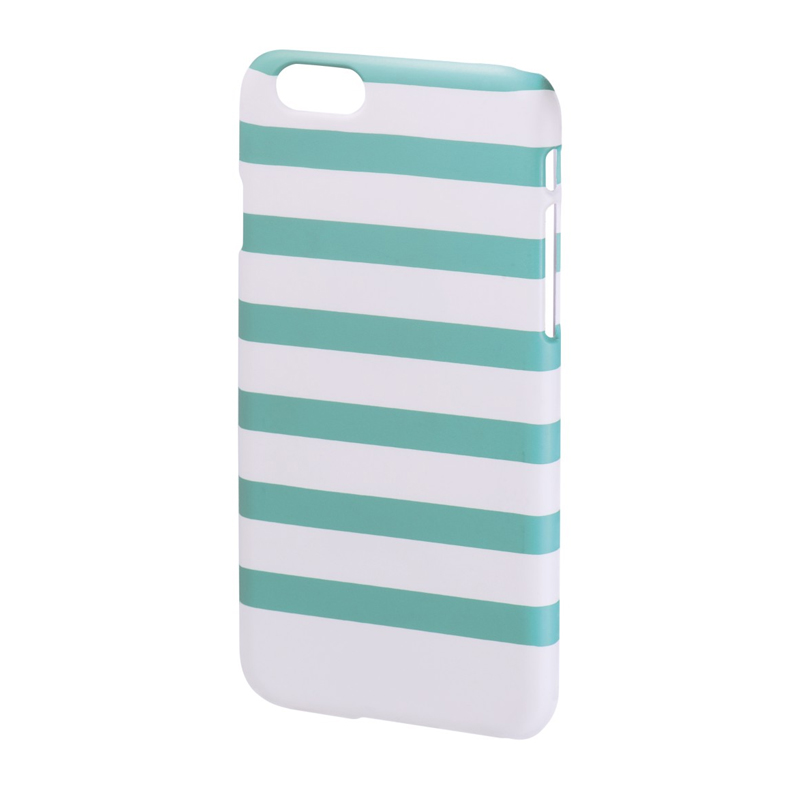 Carcasa Stripes iPhone 6 Hama, Verde/Alb 2021 shopu.ro