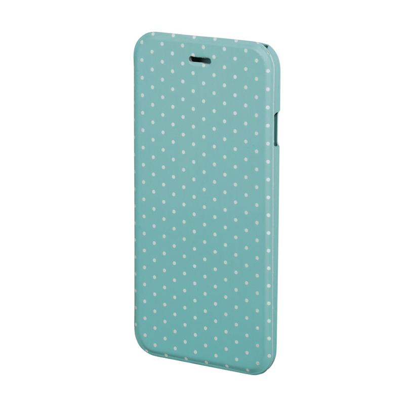 Husa Booklet Lumi Dots iPhone 6 Hama, Verde/Alb 2021 shopu.ro