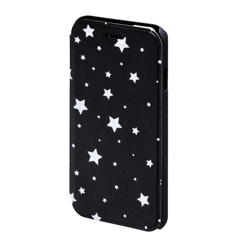 Husa Booklet Lumi Stars iPhone 6 Hama, Negru/Alb 2021 shopu.ro
