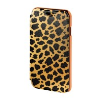 Husa Booklet Wild Leo iPhone 6 Hama, Maro