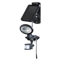 Lampa solara SOL14 Brennenstuhl, senzor PIR, Negru