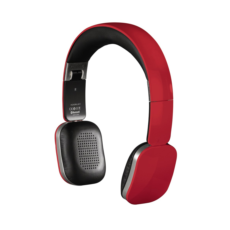 Casti audio cu banda Speed Bluetooth Hama, Rosu 2021 shopu.ro
