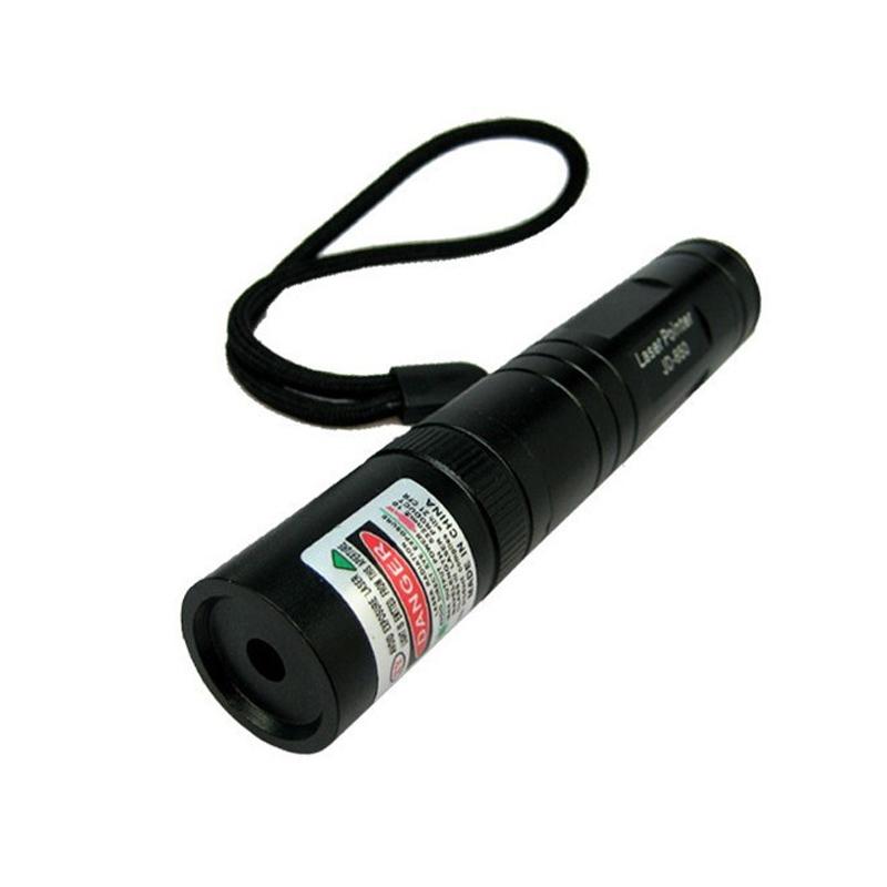 Laser pointer, 200 mW, reincarcabil, lumina verde
