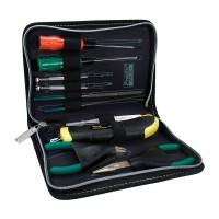 Trusa de scule compacta Pro's Kit, 10 piese