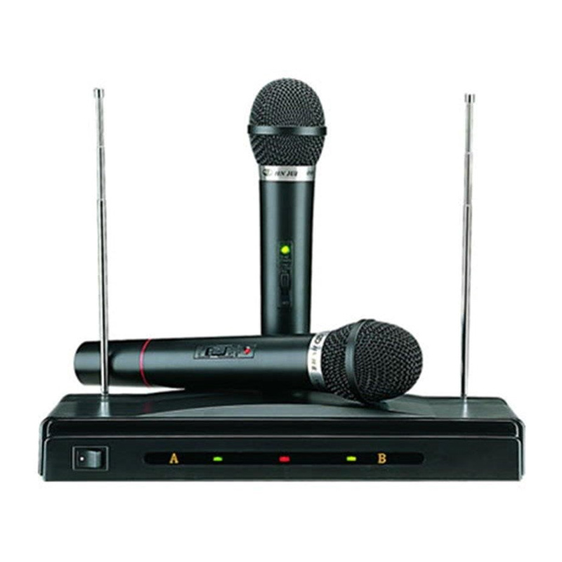 Set 2 microfoane C05, 10 m, emisie FM