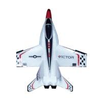 Avion Plane F-18 TS-809, raza 80 m, telecomanda