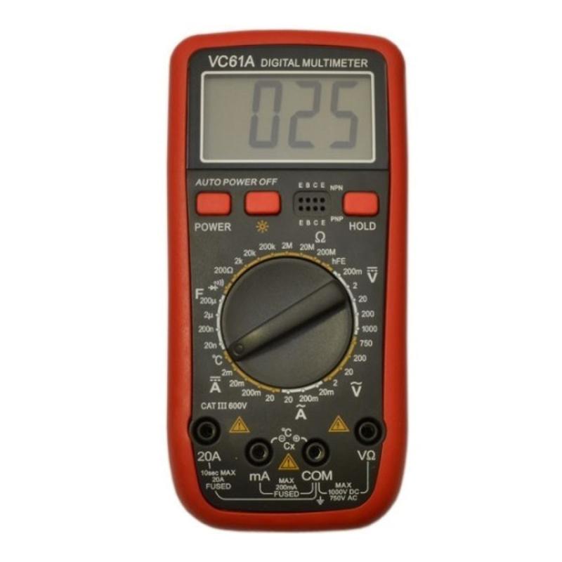 Multimetru digital VC61A, LCD, 10 functii shopu.ro