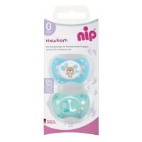 Suzeta silicon Newborn Nip, 0-2 luni, marimea 0