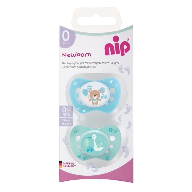 Suzeta silicon Newborn Nip, 0-2 luni, marimea 0 2021 shopu.ro