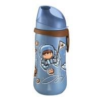 Cana cu clip prindere Kids Cup Boy Nip, 330 ml, 18 luni+