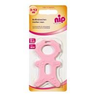 Jucarie pentru dentitie Nip, 3-12 luni, fara BPA