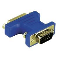 Adaptor VGA-DVI Hama, 15 pini, analog