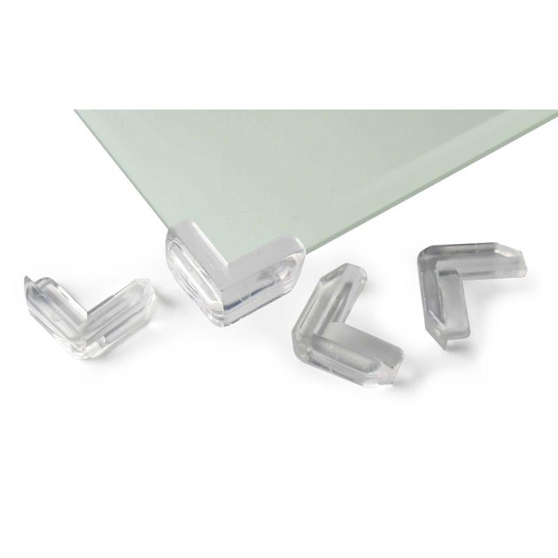 Aparatori colturi de sticla Reer, 4 bucati 2021 shopu.ro