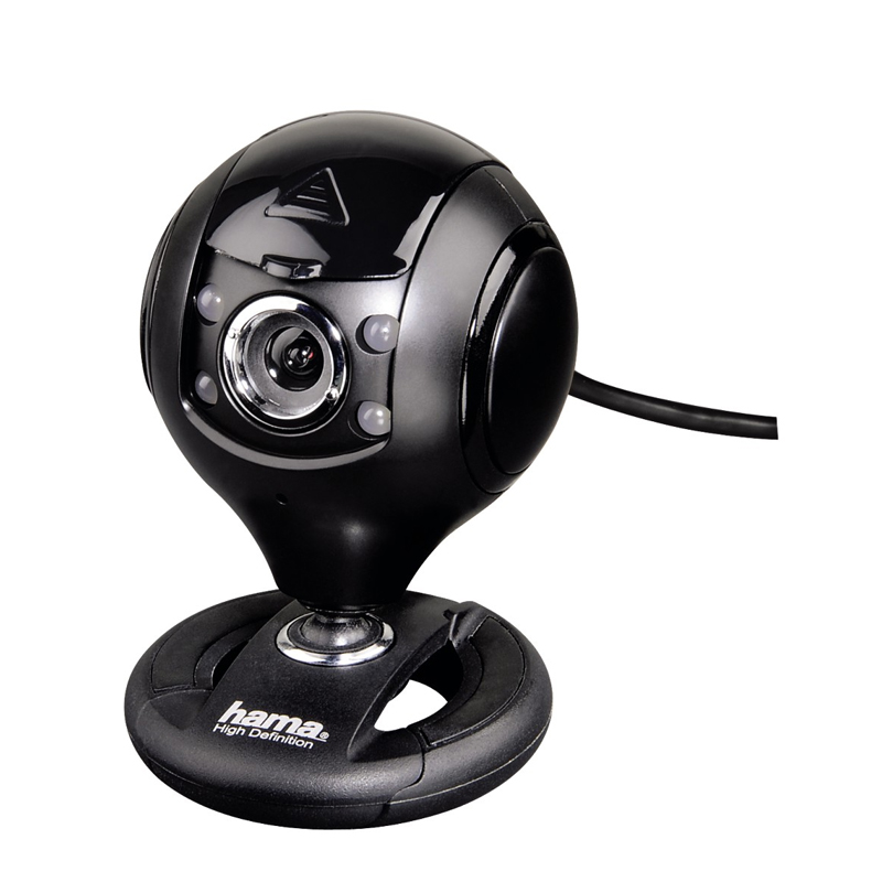 Camera Web HD Spy Protect Hama, USB, Negru 2021 shopu.ro