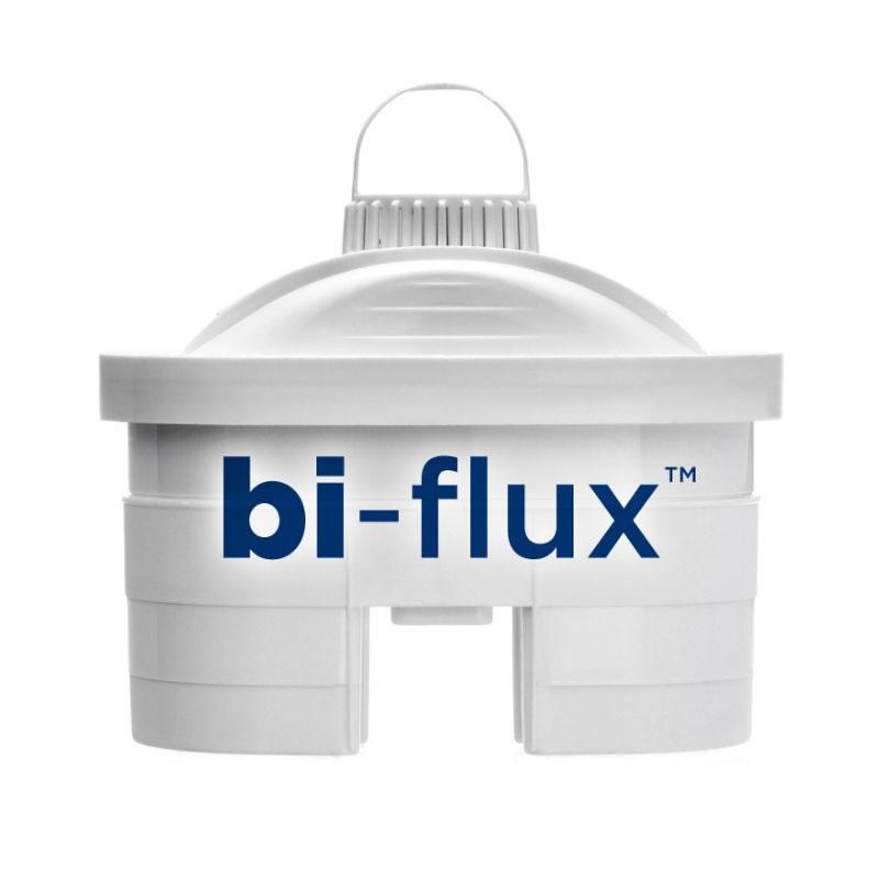 Cana de filtrare apa Laica Stream White, 2.3 l, 6 cartuse Laica Biflux incluse